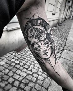 3,016 vind-ik-leuks, 23 reacties - Inez Janiak (@ineepine) op Instagram: '#blacktattoomag #blacktattooart #btattooing #darkartists #inkstinctsubmission #equilattera #tattoo…'
