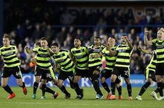 Huddersfield make the Premier League, 2017-18.