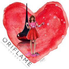 """Love Potion by Oriflame"" by consultantori on Polyvore"