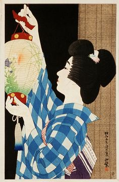 by 伊東深水 Shinsui Ito