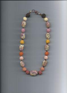 retro and textured beads