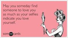Narcissists = Selfies