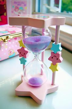 Cute hour glass stars #pastel Little Twin Stars