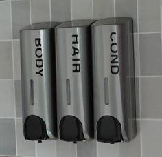 shampoo conditioner soap dispenser shower - Google Search