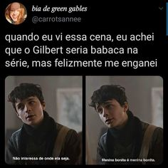 Gilbert Blythe, Anne Netflix, Gilbert And Anne, Anne White, Riverdale Memes, Anne Shirley, Indie Kids, Greys Anatomy, Harry Potter