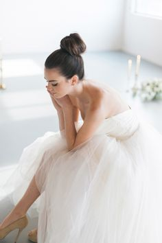 Ballet-inspired bride | Photography: Blue Rose Photography - www.bluerosepictures.com