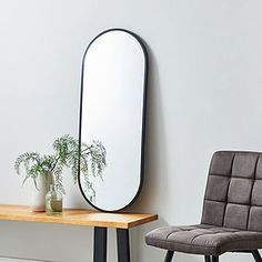 Find the perfect wall hanging mirror to complement new or existing decor. Choose from a wide range of wall mirrors such as round mirrors, vintage mirrors and beautiful bevelled mirrors all available online from Dunelm. Leaner Mirror, Ornate Mirror, Indie Room, Upstairs Bathrooms, Round Wall Mirror, Soft Furnishings, Living Room Decor, Furniture