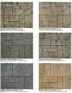 Decorative Stamped Concrete Grand Ashlar Stamp Italian