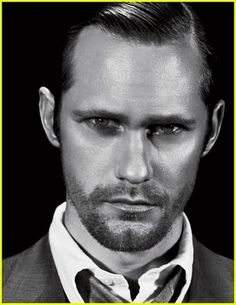 I feel like we could all use a little more Alexander Skarsgard in our lives. :D