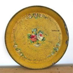 Antique tray