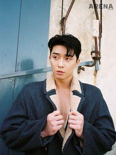 Park Seo Joon - Arena Homme Plus Magazine November Issue Korean Male Actors, Korean Celebrities, Asian Actors, Celebs, Hot Korean Guys, Korean Men, Asian Men, Oppa Gangnam Style, Park Seo Joon
