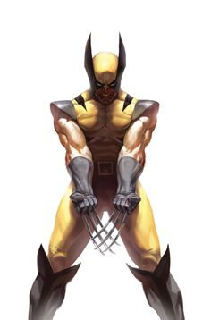 Wolverine in my opinion isnt very apealing, I think the sword hands are scary!