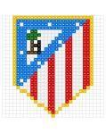 PL atletico madrid y muchos escudos de fútbol más.