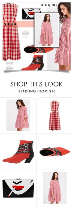 """""""Untitled #1846"""" by kriz-nambikatt on Polyvore featuring Lowie, Shellys and Charlotte Olympia"""