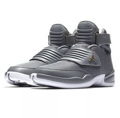 79e9ce28688 Jordan Generation 23 Mens Basketball Shoes 9 Cool Grey White Gold #Jordan  #BasketballShoes