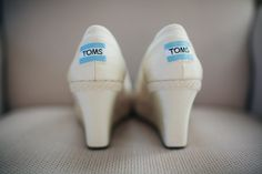 toms wedding shoes!
