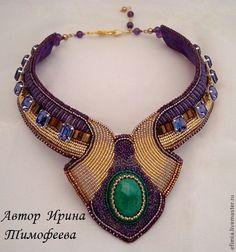 ~~Fair Masters - handmade beaded necklace~~ #bijouxfantaisie #bijouxcreateur…