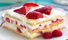 ❤️ Ce gâteau aux fraises SANS CUISSON est tout ce dont vous avez besoin en ce jour de st-valentin! ❤️