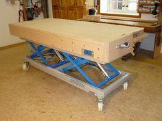 Montagetische Einemann   Assembly Table   MT3 XXL
