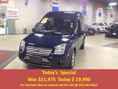2013 Ford Transit Connect XLT. 5 passenger, Bluetooth, Sync, Bruno VSL-570 Big-Lifter scooter or power chair lift, with only 6700 miles! For the best deal on wheels call Jim Zim @ 203.482.8417 For more info on the Bruno Lift see https://www.youtube.com/watch?v=YXv0J4sjV2o