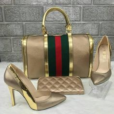 Buying Designer Shoes does not only pertain to shoes that have high heels or those that are too delicate to be used on the sidewalk. Gucci Fashion, Fashion Bags, Fashion Shoes, Fashion Outfits, Beautiful Bags, Beautiful Shoes, Shoe Boots, Shoe Bag, Louis Vuitton Shoes