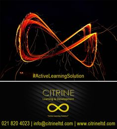 At Citrine Learning & Development, we visualise, plan and create solutions before we deploy them for you! www.citrineltd.com Our specialised service offerings include: • Personal Mastery • Corporate Governance • Learner Support Coaching • Finance for Non-Financial Managers • General Management • Leadership Development #ActiveLearningSolution #thoughtfortheday Tel: 0218204023 info@citrineltd.com