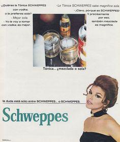 Tónica Schweppes. Año 1970