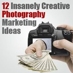 Great tips for making money with your photography.