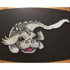 Falkor the Luckdragon - The Neverending Story perler beads by girlybones
