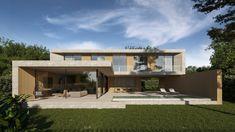 JAIME SALVÁ, Arquitectura  Interiorismo - J776 CREU 65. ENVY Beton Design, Concrete Design, Concrete Facade, Building Companies, Interior Design Studio, Modern House Design, Minimalist Design, Interior Architecture, House Styles