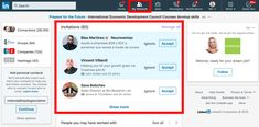 Some extremely advanced LinkedIn ninja tricks to make your LinkedIn activities as efficient and as useful to you as possible Free Message, Economic Development, Ninja, Connection, Social Media, Ads, Messages, Teaching, Activities