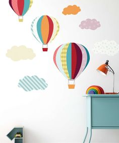 Patternology - Balloons Wall Stickers - Patternology - Mamas & Papas