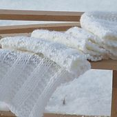 XY scarf. Free pattern. XY sál. Ingyenes minta.