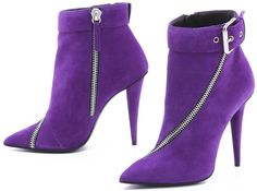 Purple boots from Your Next Shoes