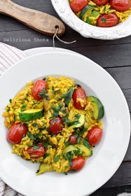 Delicious Shots: Orzo with Vegetables, A Great Side Dish