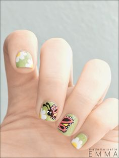 Spring nails ... adorable!