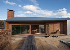 2 | A Warm, Modern Hideaway For Tasmanian Sheep Shearers | Co.Design: business + innovation + design