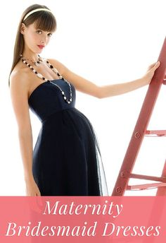 How to shop for maternity bridesmaid dresses >>