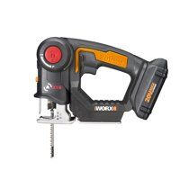 WORX WX550L.9 20V AXIS 2-in-1 Reciprocating Saw and Jigsaw with Orbital Mode
