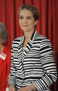 Infanta Elena of Spain attends 'Caritas Charity Day', 12.06.2014 in Madrid, Spain.