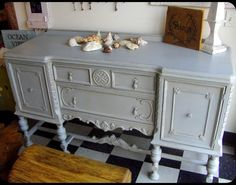 Painted Furniture - traditional - buffets and sideboards - other metro - Towne Centre Furniture - a different kind of possibility. Not in gray but other color maybe