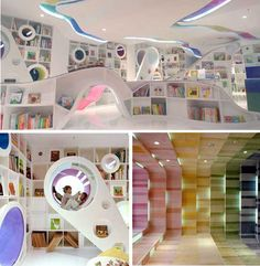 Kids Republic Bookstore in Beijing, China