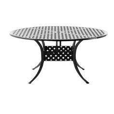 Basketweave 60 Dining Table   Outdoor, Patio Furniture Toronto, Waterloo,  Ottawa   Hauser
