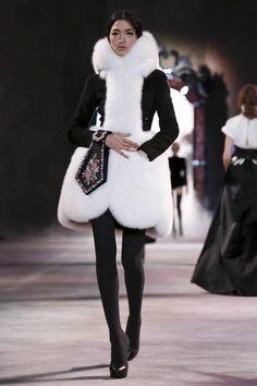 Image - Ulyana Sergeenko @ Paris A/W Couture 2013 - SHOWstudio - The Home of Fashion Film