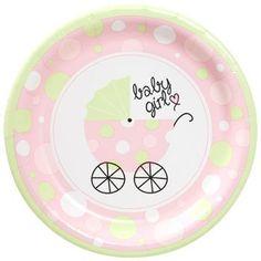 Baby Shower Paper Plates - Pink Girl - 36 Plates Greenbier Int. http://www.amazon.com/dp/B00A6Z6RYC/ref=cm_sw_r_pi_dp_q1xWtb1EKC7ZQ9TE