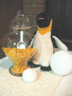 penguins eat fish