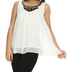 👉🏻Beyaz Şifon Hasır Kolyeli Bluz 🏷41,94₺ ℹ️36, 40, 42, 44 bedenleri mevcuttur. 🌏www.anindagiyim.com/urun/beyaz-sifon-hasir-kolyeli-bluz ☎️ 0212 438 73 25 ✅ Kapıda Ödeme ✅ Ücretsiz Kargo #moda #giyim #alışveriş #kadıngiyim #stil #trend #fashion #style #beyaz #bluz #beyazbluz #kolye #kolyelibluz #şifonbluz #clothes #yenisezon #indirim #ücretsizkargo #model Tunic Tops, Women, Fashion, Women's, La Mode, Fashion Illustrations, Fashion Models
