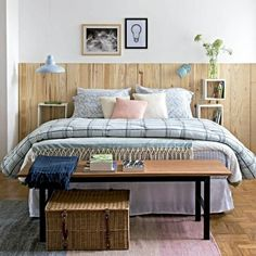 Bedroom simple decor for couples small spaces 48 New Ideas Guest Bedroom Decor, Bedroom Colors, Bedroom Sets, Home Bedroom, Bedroom Furniture, Bedrooms, Couple Bedroom, Cool Rooms, Small Spaces