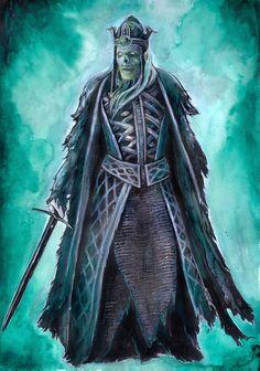 King of the dead by JankaLateckova