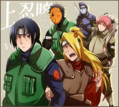 Deidara, you still look feminine.